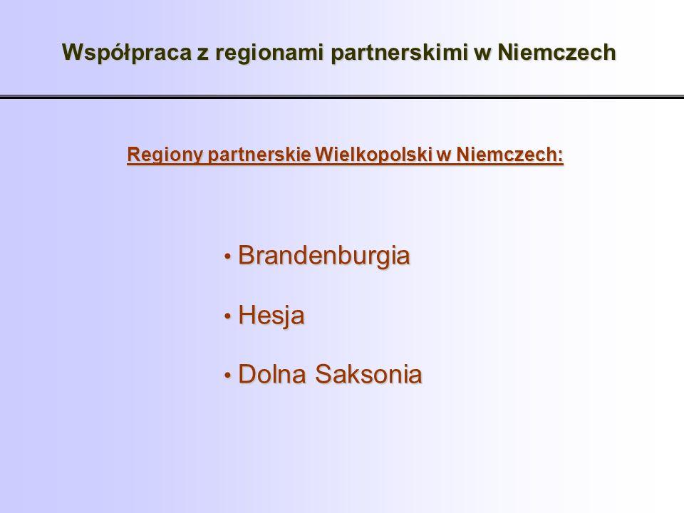 Współpraca z regionami partnerskimi w Niemczech