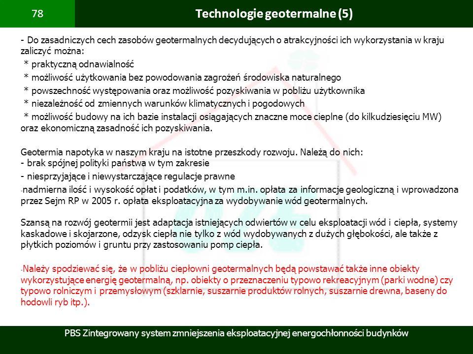 Technologie geotermalne (5)