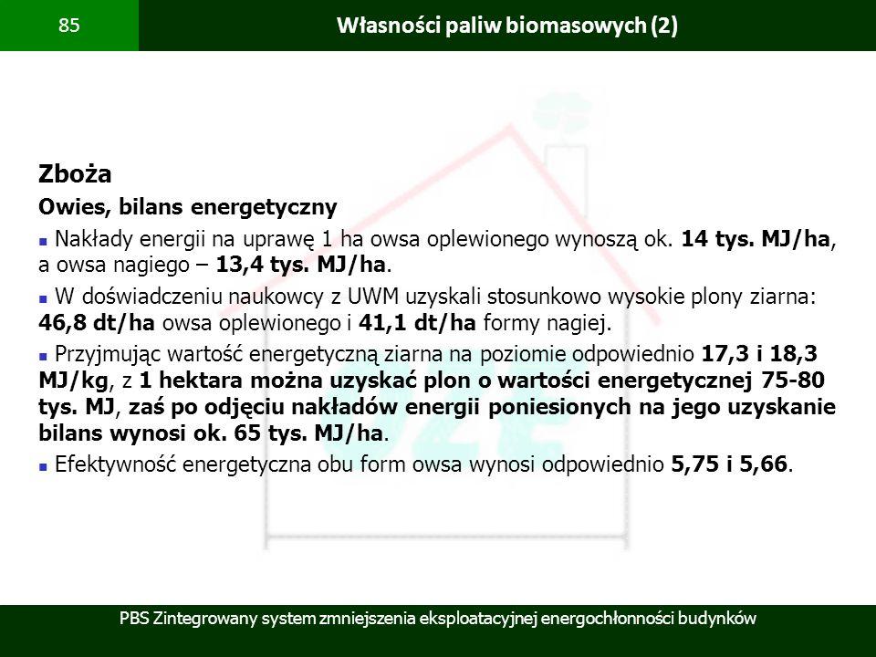 Własności paliw biomasowych (2)