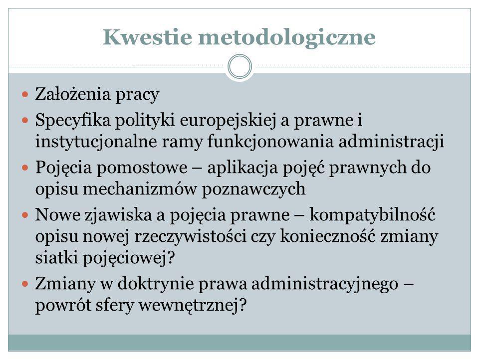 Kwestie metodologiczne