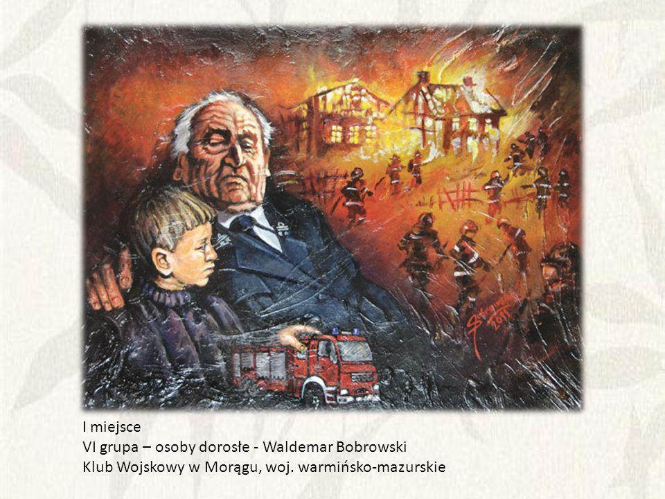 I miejsce VI grupa – osoby dorosłe - Waldemar Bobrowski.