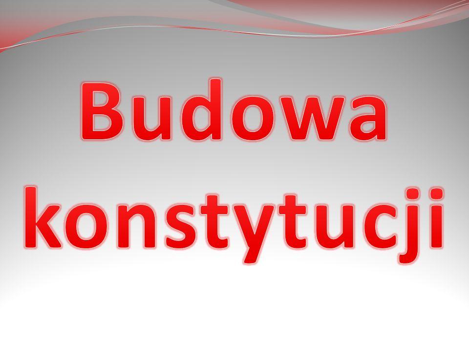 Budowa konstytucji