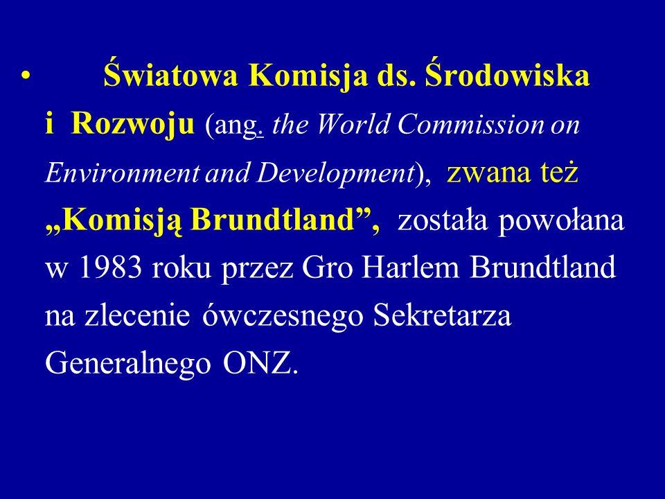 Światowa Komisja ds. Środowiska