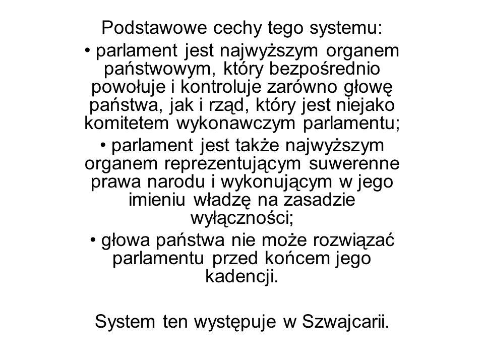 Podstawowe cechy tego systemu: