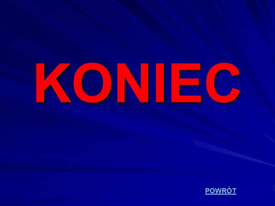 KONIEC POWRÓT