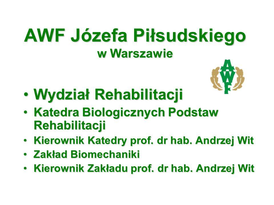 AWF Józefa Piłsudskiego w Warszawie