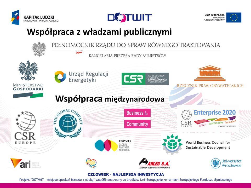 Współpraca z władzami publicznymi
