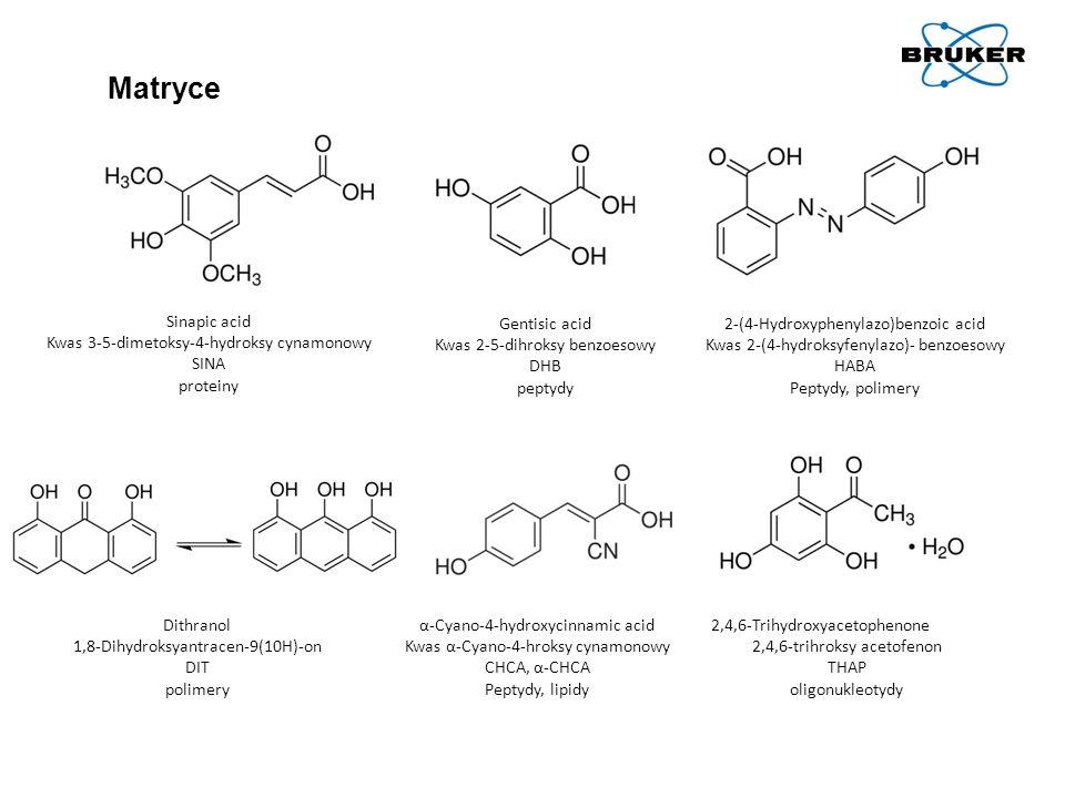 Matryce Sinapic acid Kwas 3-5-dimetoksy-4-hydroksy cynamonowy SINA