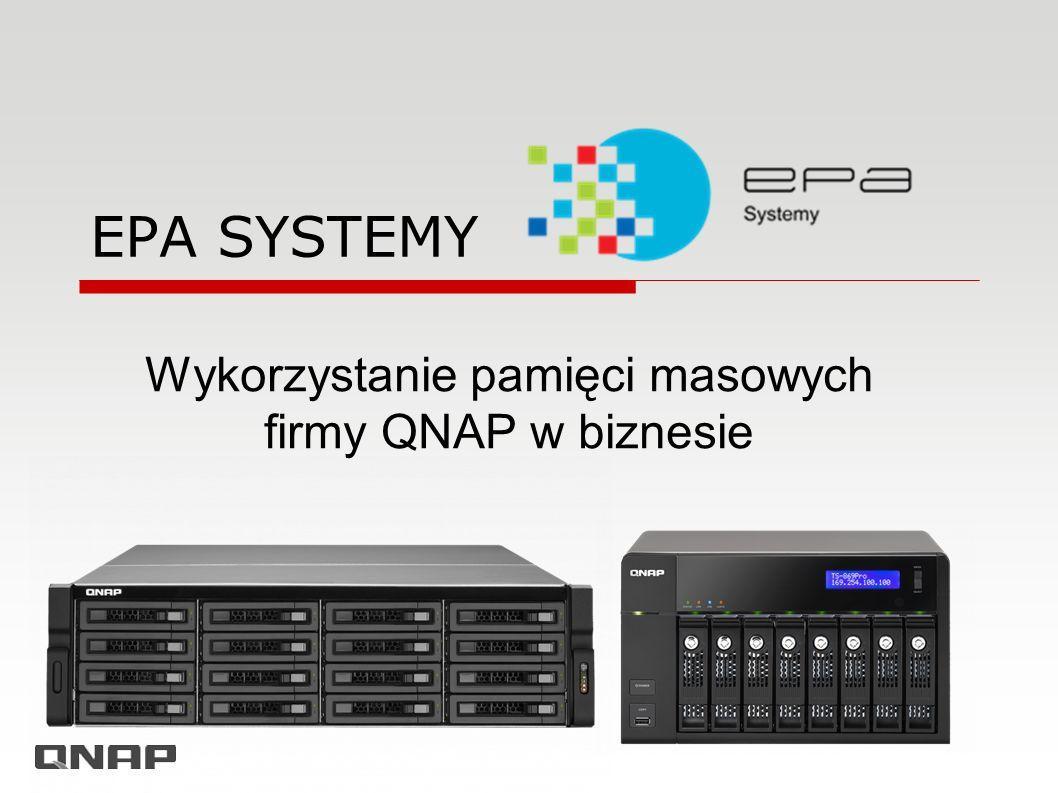 Wykorzystanie pamięci masowych firmy QNAP w biznesie