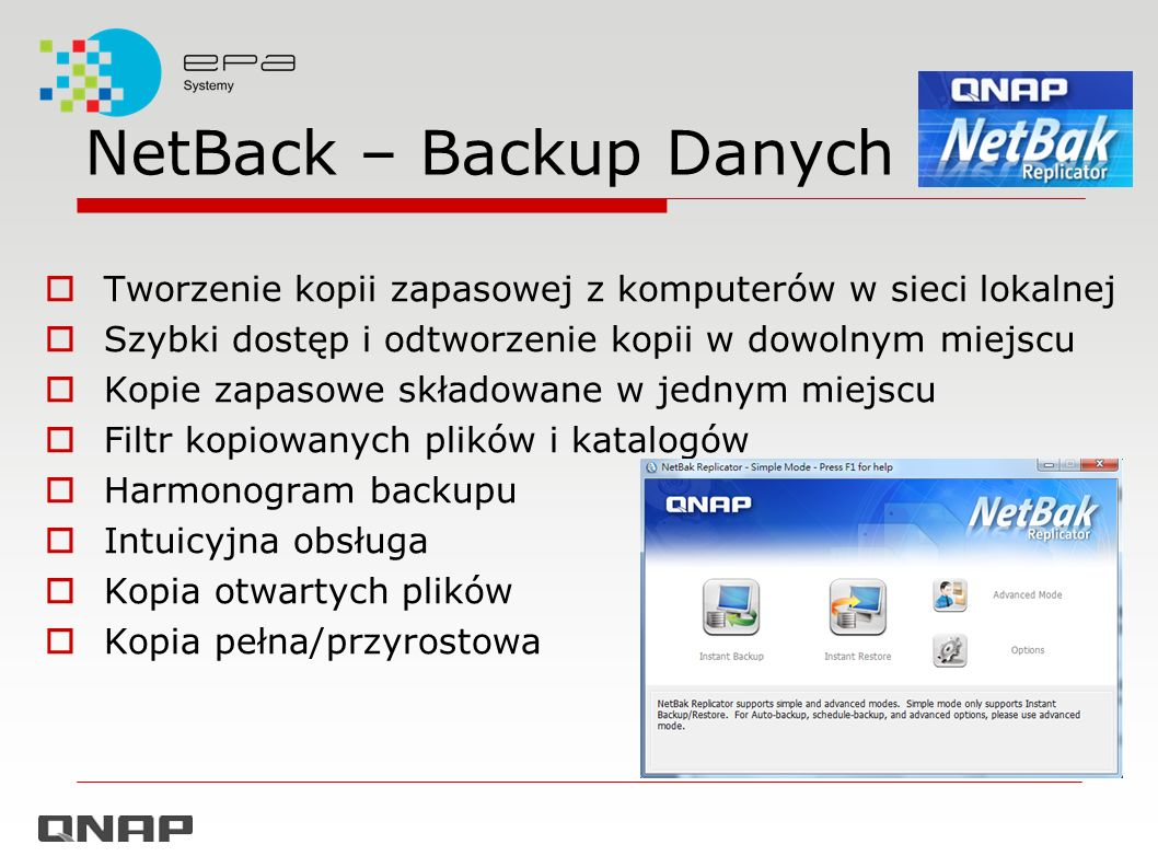 NetBack – Backup Danych