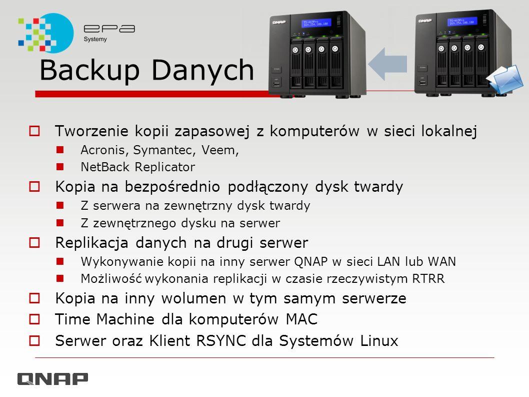 Backup Danych Tworzenie kopii zapasowej z komputerów w sieci lokalnej