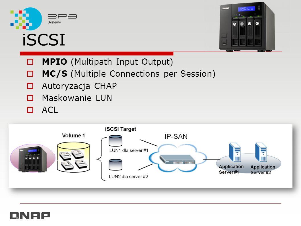iSCSI MPIO (Multipath Input Output)