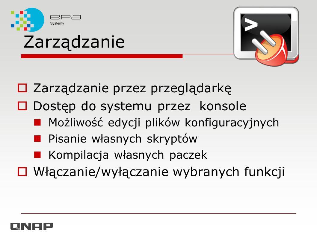 Zarządzanie Zarządzanie przez przeglądarkę