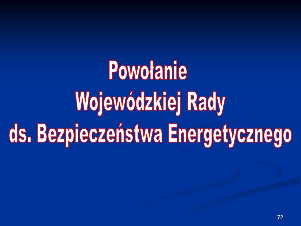 ds. Bezpieczeństwa Energetycznego