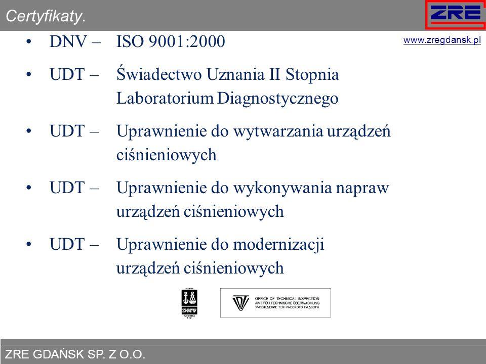 UDT – Świadectwo Uznania II Stopnia Laboratorium Diagnostycznego