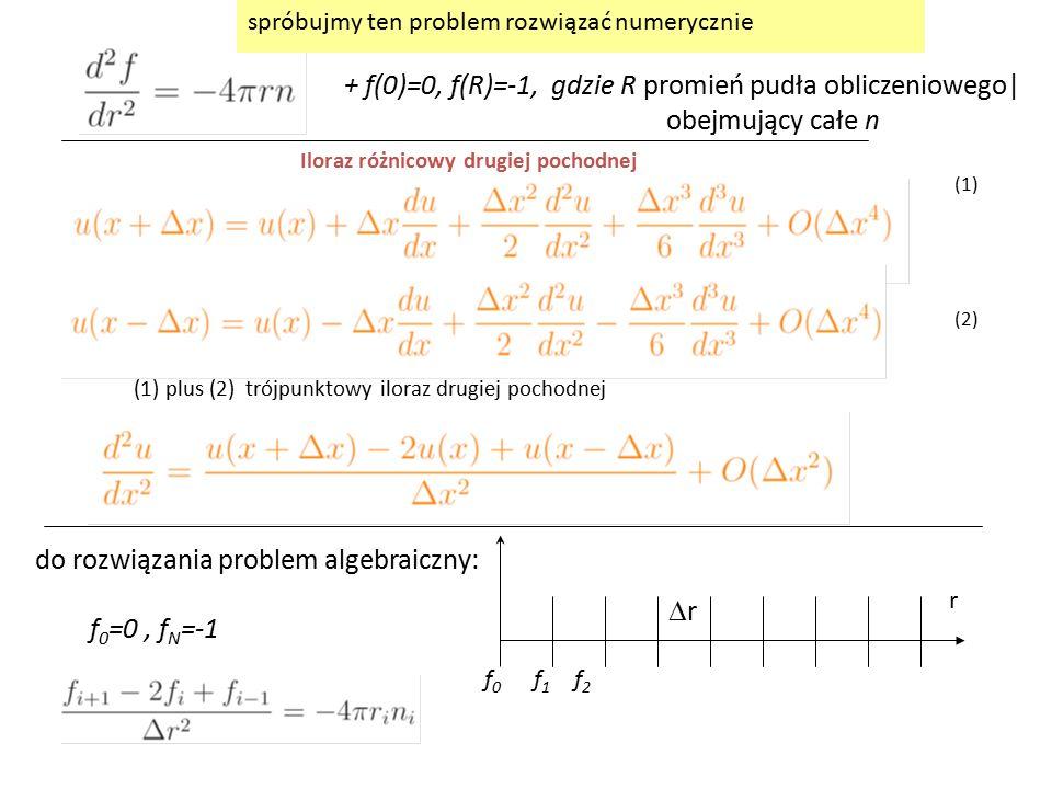 do rozwiązania problem algebraiczny:
