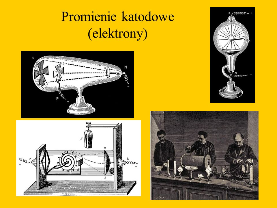 Promienie katodowe (elektrony)