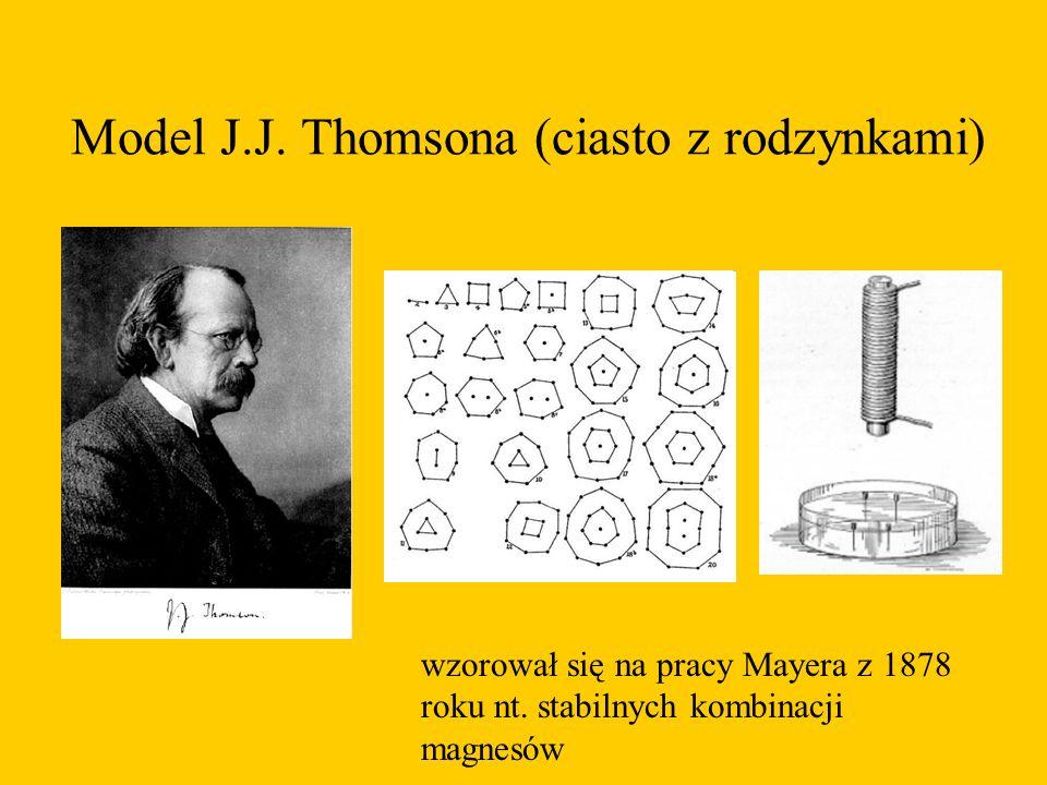 Model J.J. Thomsona (ciasto z rodzynkami)