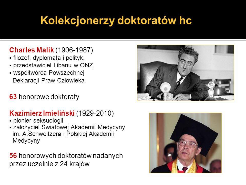 Kolekcjonerzy doktoratów hc
