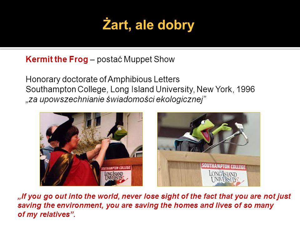 Żart, ale dobry Kermit the Frog – postać Muppet Show