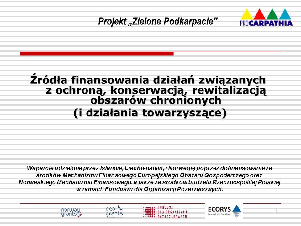 """Projekt """"Zielone Podkarpacie (i działania towarzyszące)"""