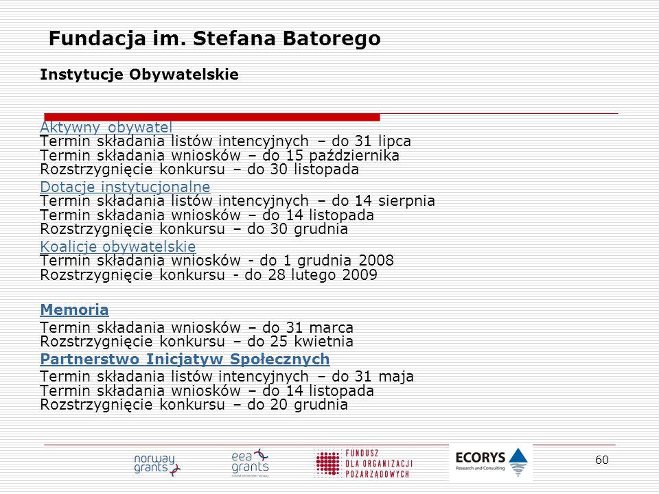Fundacja im. Stefana Batorego