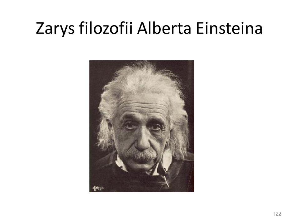 Zarys filozofii Alberta Einsteina