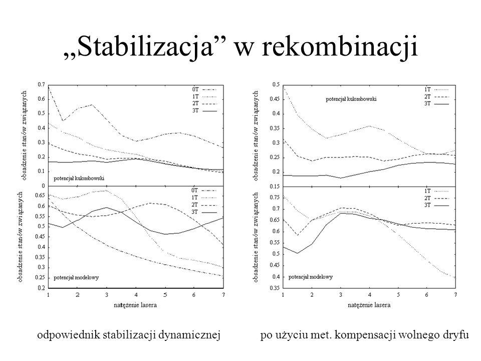 """""""Stabilizacja w rekombinacji"""
