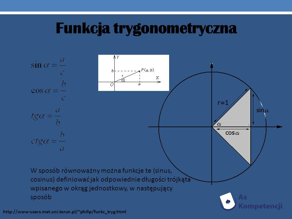 Funkcja trygonometryczna