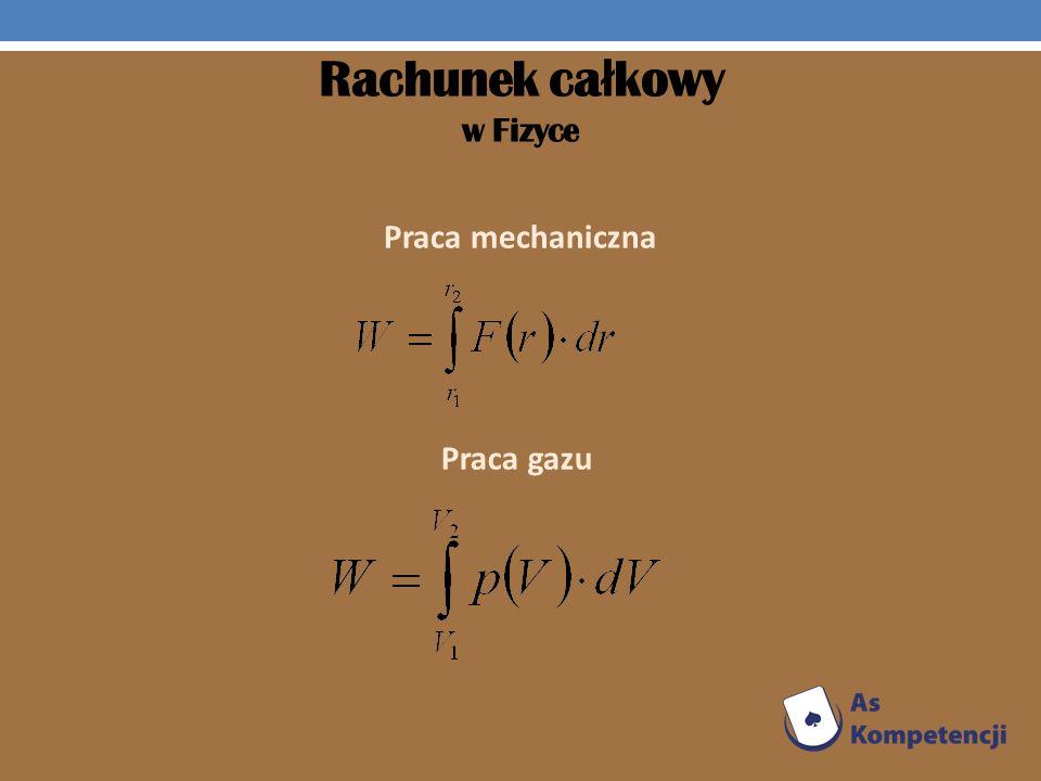 Rachunek całkowy w Fizyce
