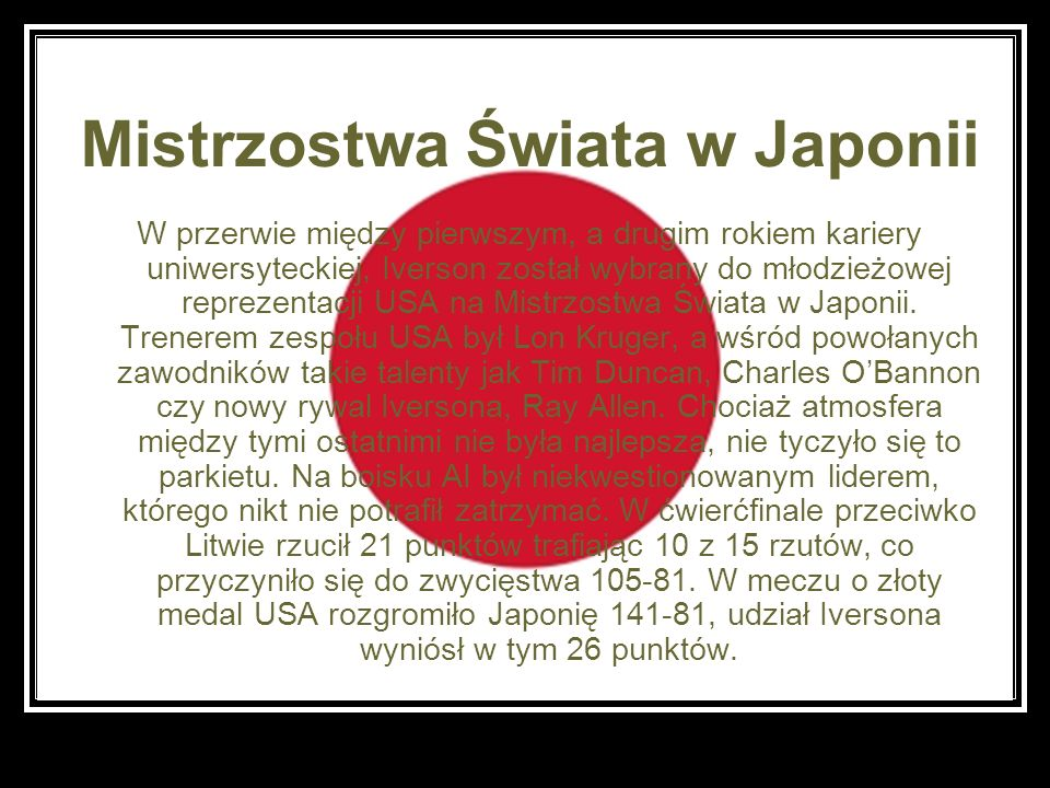 Mistrzostwa Świata w Japonii