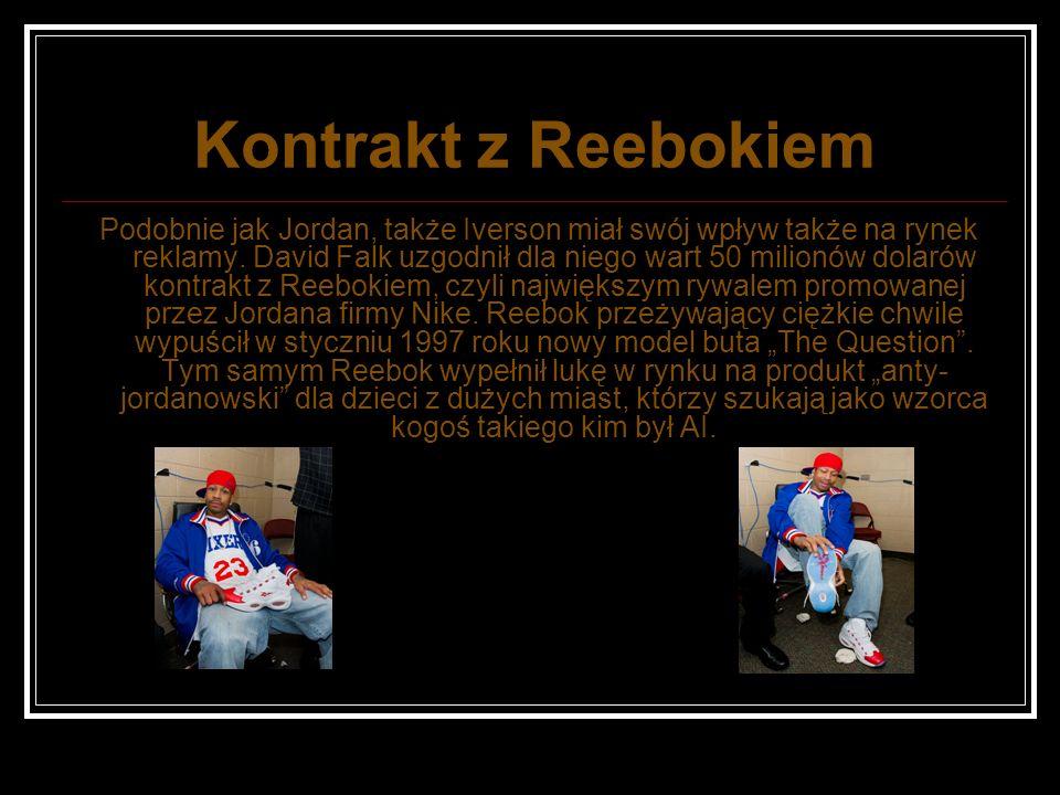 Kontrakt z Reebokiem