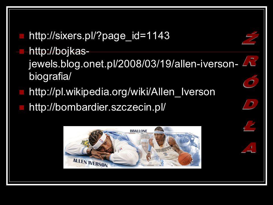 ŹRÓDŁA http://sixers.pl/ page_id=1143