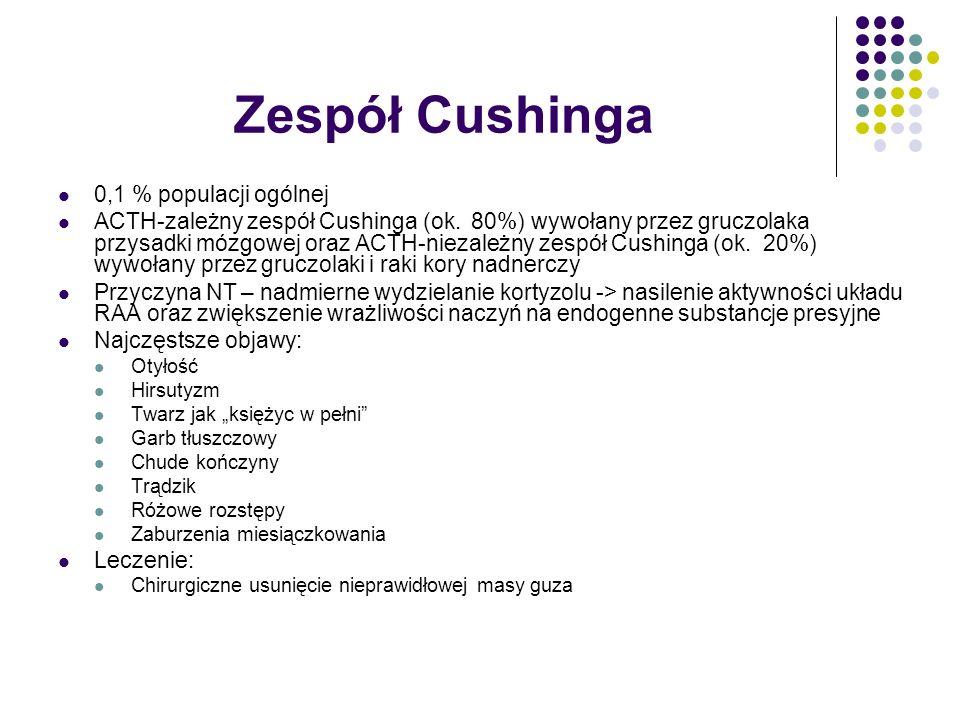 Zespół Cushinga 0,1 % populacji ogólnej