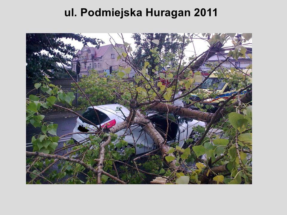 ul. Podmiejska Huragan 2011