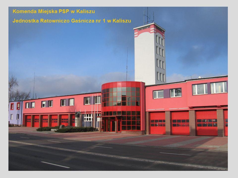 Komenda Miejska PSP w Kaliszu