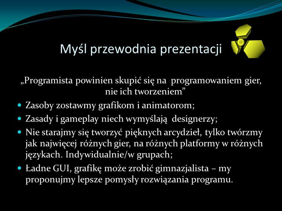 Myśl przewodnia prezentacji