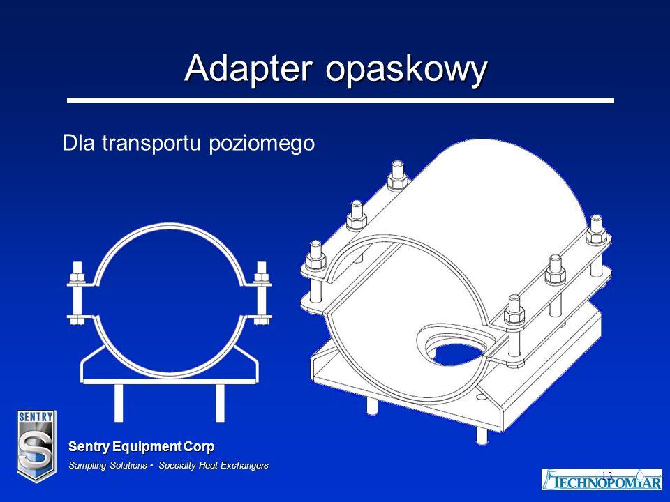 Adapter opaskowy Dla transportu poziomego