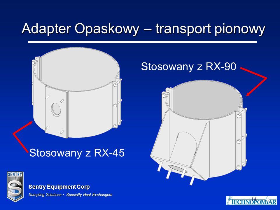 Adapter Opaskowy – transport pionowy