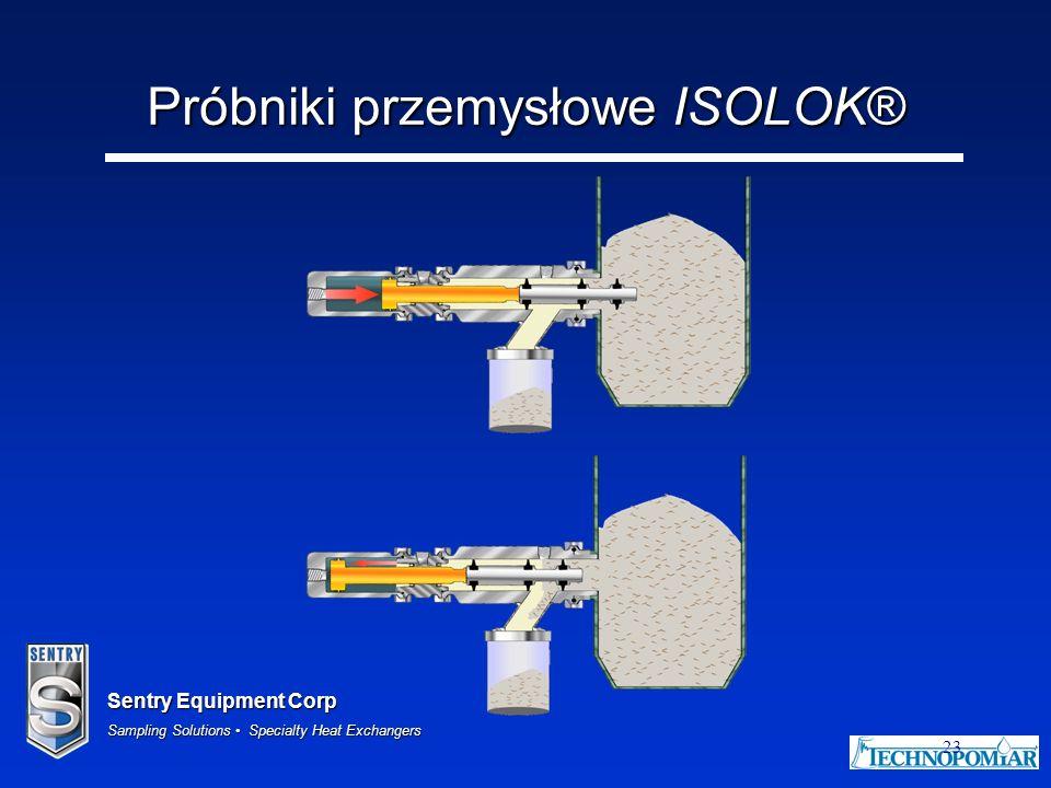 Próbniki przemysłowe ISOLOK®