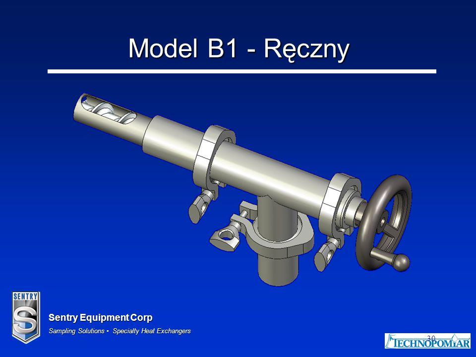 Model B1 - Ręczny