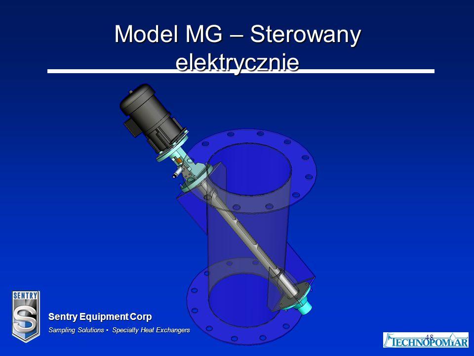 Model MG – Sterowany elektrycznie