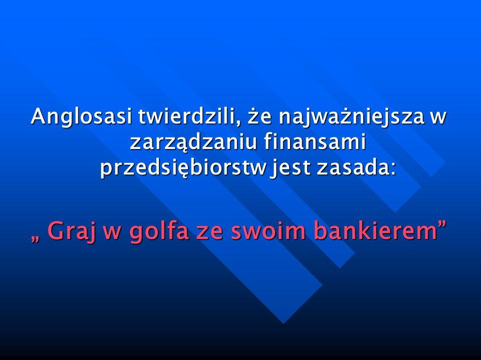 """"""" Graj w golfa ze swoim bankierem"""
