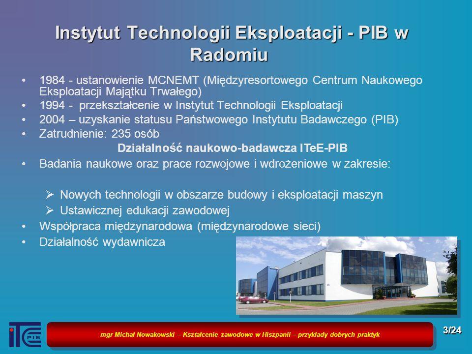 Instytut Technologii Eksploatacji - PIB w Radomiu