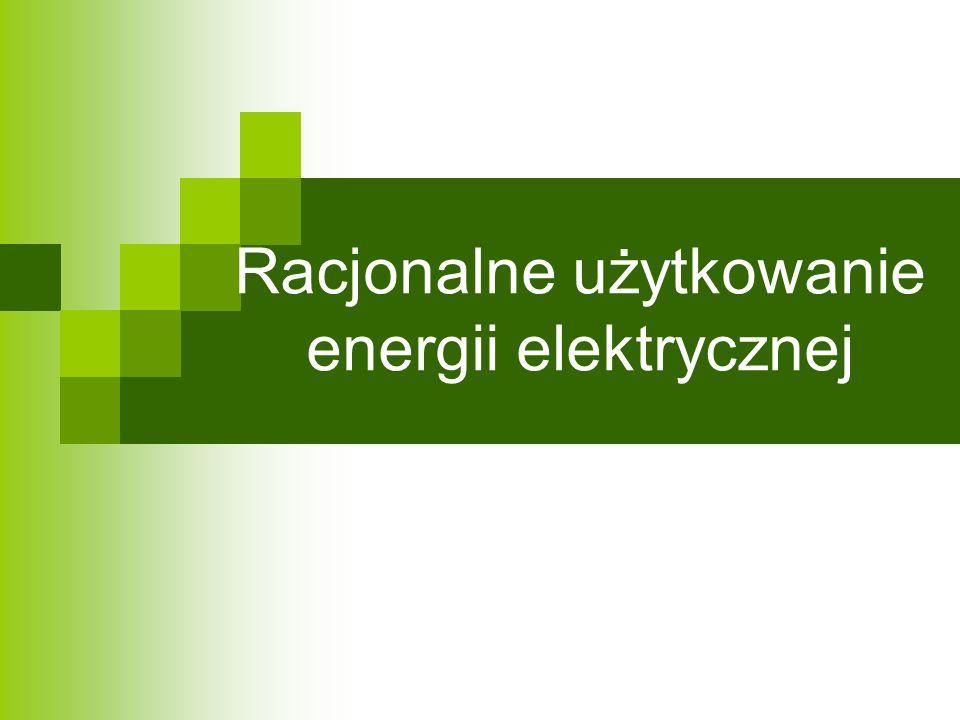 Racjonalne użytkowanie energii elektrycznej