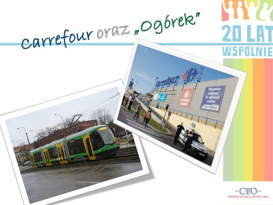 "Carrefour oraz ""Ogórek"