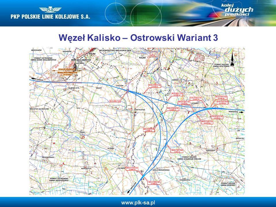 Węzeł Kalisko – Ostrowski Wariant 3