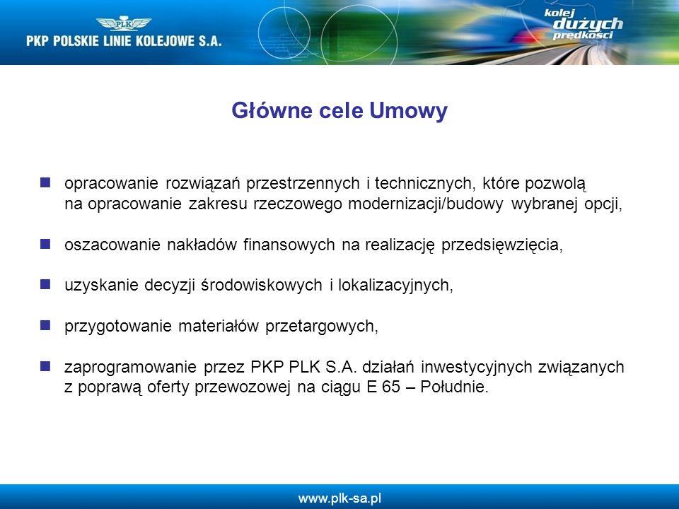 Główne cele Umowy