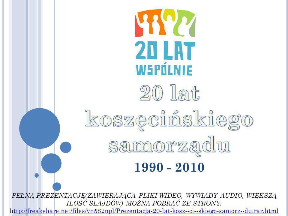 20 lat koszęcińskiego samorządu