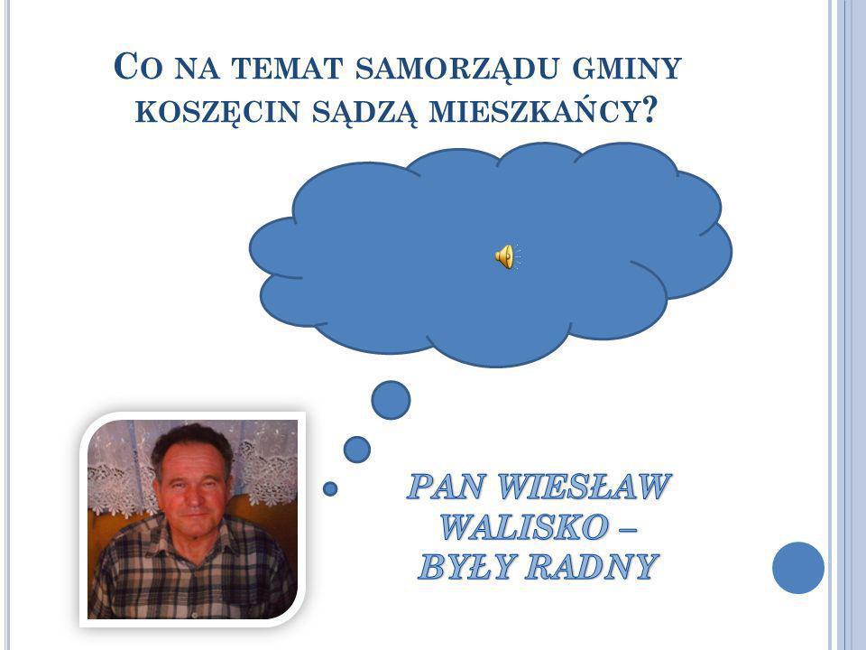 Co na temat samorządu gminy koszęcin sądzą mieszkańcy